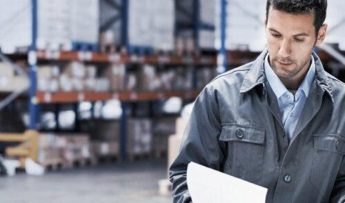 Supply Chain Management Header